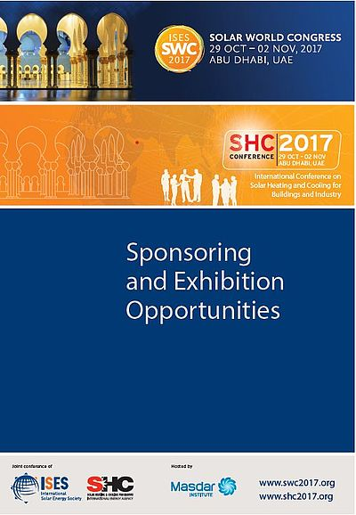Swc2017 Solar World Congress 2017 Sponsorship Opportunities